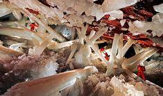 Cueva de los Cristales (Cave of Crystals) in Naica, Mexico