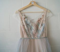 Farytale bird Cute Dresses, Prom Dresses, Formal Dresses, Wedding Dresses, Graduation Dresses, Couture Embroidery, Embroidery Dress, Lavender Wedding Dress, Taffeta Dress