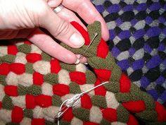 braided rug tutorial