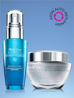 Never run out again! Subscribe to Avon Auto-Replenish and get your skin care favorites sent to you automatically just when you need it!