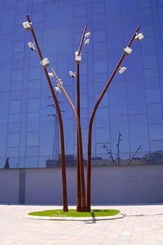 escofet ful light by urban elements Urban Furniture, Street Furniture, Lighting Concepts, Lighting Design, Tree Lighting, Outdoor Lighting, Park Lighting, Brick Yard, Solar Street Light