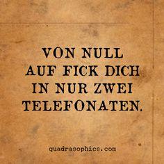 Manchmal auch schon nach nur einem #Telefonat...