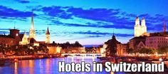 Find the best deals on hotels in Switzerland with Dennis Dames Discount Hotel Finder International by comparing 1000's of hotel reservations sites at once. Best Price Guaranteed!