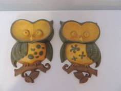 Cast Aluminum Vintage Sexton Retro Owl Art Wall Hanging 1970's Made in U s A | eBay