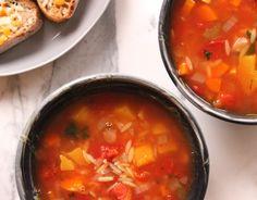 ... ideias sobre Sopa De Orzo no Pinterest | Orzo Frango, Sopas e Orzo
