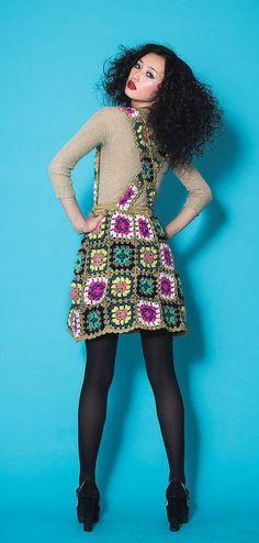 Not your granny's, Granny Square Chic Fashion!