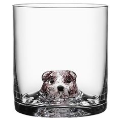 New Friends Tumbler Bear by Kosta Boda, $245