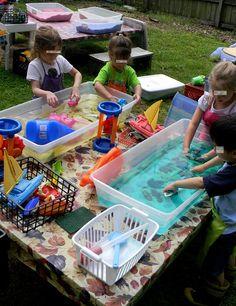 Outdoor kid fun. @Jody Rieck Rieck Bradshaw this would be fun to do for neighborhood kids to celebrate G' s bday!
