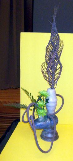 Multi-Rhythmic design by Char Mutschler at the 2013 Flower Show Judges Symposium in Athens, Georgia