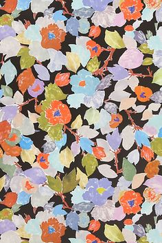 Spectrum Narcissus Wallpaper, Anthropologie.