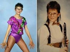 Revisit the era of big hair and shoulder pads with these thirty hilarious pictures of fashion that prove it's a decade we should pretend never happened. Casual Work Outfits, Girly Outfits, Skirt Outfits, 80s And 90s Fashion, Funny Fashion, Fashion Check, Lionel Richie, 80's Fashion Pictures, Big Hair Bands
