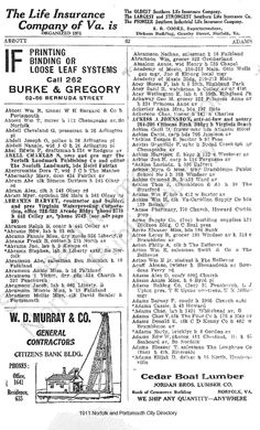 1911 Directory Listing