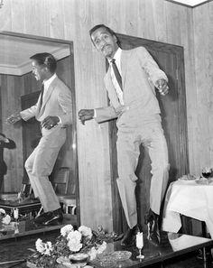 "Sammy Davis Jr. One of the ""Rat Pack"""