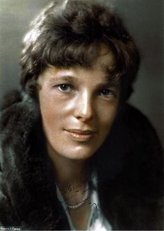 Amelia Earhart, 1930. First female to fly solo across the Atlantic.   ♦ℬїт¢ℌαℓї¢їøυ﹩♦