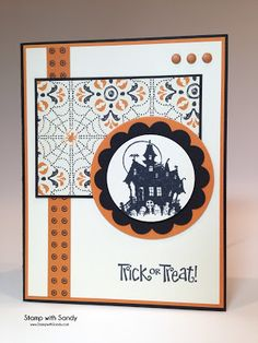 Stamp with Sandy: Trick or Treat