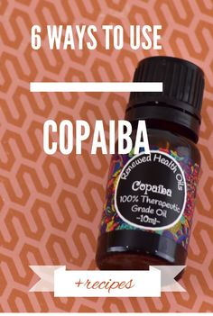 20d6fbe743adfb 6 Ways to use Copaiba Essential Oil + Recipes  copaiba  renewedhealthoils   paineo Copaiba