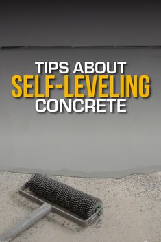 Whenever you need to repair, smooth, or raise a floor, self-leveling concrete can be a fast, cost-effective solution to the problem. Learn the tips.