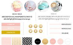 Servicio Diseño de Marca incluye las tipografías corporativas, colores corporativos, texturas e imágenes recomendadas, iconos en redes sociales, etc...