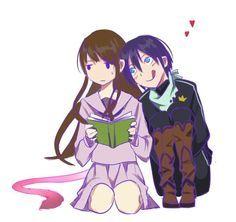 Haha so typical   Yato and Hiyori   Noragami