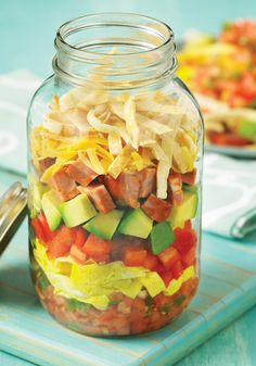Breakfast Burrito in a Jar Recipe Is One Of 150 Best Meals In A Jar - From Val's Kitchen