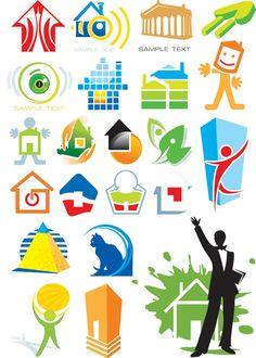 House theme Free logo vector graphic