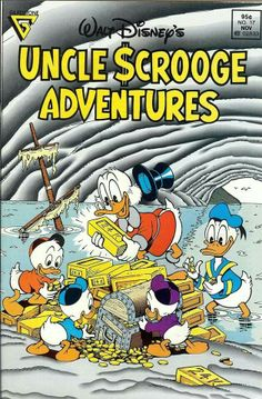 """Lost Beneath The Sea"" by Carl Barks. Cover by Don Rosa"