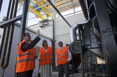 Inauguración de una gran planta de biomasa renovable en la fábrica de Papelera de L ́Alqueria