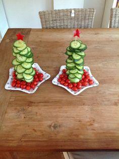 Gemaakt voor kerstdiner school Amy