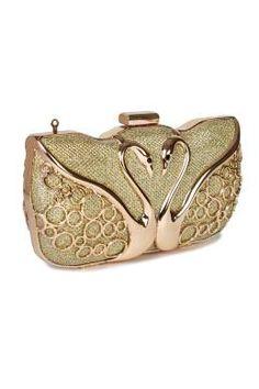 84edd7dda683 Kleio Elegant Bling Clutch ( Gold ) Party Wear For Women, India Online,  Online