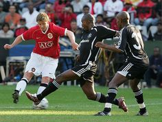United kick-off their pre-season tour of South Africa with an emphatic win. Man Utd News, Happy People, Orlando, Pirates, South Africa, Kicks, The Unit, Football, Seasons