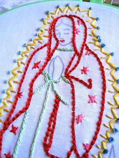 Asdfghjkl!!! I love ANYTHING virgin Mary, and needle work!!!!