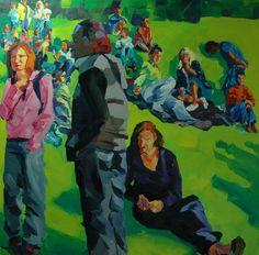 Skeptic Oil/Canvas 100 x 100 cm Oil Canvas, Paintings, Art, Art Background, Paint, Painting Art, Kunst, Performing Arts, Painting
