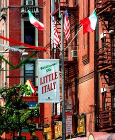 New York City 's Little Italy experience the history of this iconic neighborhood.One of my favorite places to go .Fabulous food.