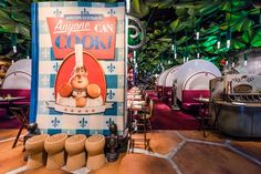 Bistrot Chez Remy restaurant in Walt Disney Studios park in Disneyland Paris DLP