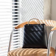 Leather bag | ICONICS MANGO AW16