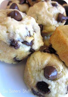 Mini Maple Pancake Muffins on SixSistersStuff.com