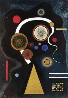 "Vasilij Kandinskij - ""Capricious Line"" 1924"