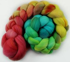 Bohemian merino wool top for spinning and felting  4.1 ounces