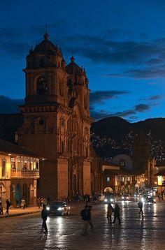 Iglesia de la Compañía, Plaza de Armas, Cusco, Peru