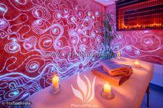 gabinet masażu oświetlenie