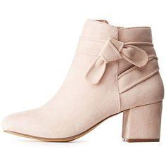 199388297af 50 Shape Block Heels Shoes Inspiration For Women - Nona Gaya · Charlotte  Russe BootsHigh Ankle BootsHeel BootsSquare Toe ...