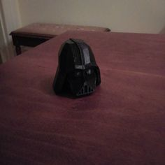 My most recent 3D print- a Darth Vader helmet. #3dprinting #printrbotplus by maxkklivans
