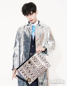 Lee Jong Suk - Marie Claire Magazine April Issue '14