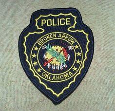 OK Broken Arrow Oklahoma Police Patch