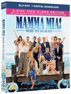 Mamma Mia Here we go again is out of DVD/BLUERAY. Be sure to enter to win a copy of this sing along edition for musical fun all year long! Mamma Mia, New Movies, Movies Online, Movies And Tv Shows, Disney Movies, Lily James Cinderella, Jeremy Irvine, Julie Walters, Dominic Cooper