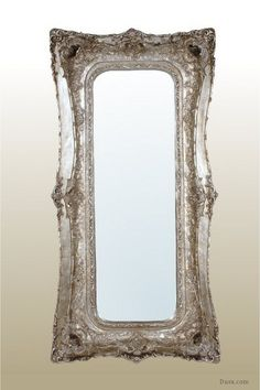 Rosetti Baroque Silver  Bevelled  Mirror : For sale at www.DUSX.com