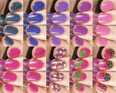 Top Shelf Lacquer - Margarita Time: Swatches, Review & Nail Art