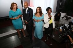 """Last night, OWN: Oprah Winfrey Network hosted a preview party at Bar One in Atlanta for their two new scripted series: Tyler Perry's """"The Haves & Have Nots"""" and """"Love Thy Neighbor."""" Oprah Winfrey Network, Love Thy Neighbor, Tyler Perry, Prom Dresses, Formal Dresses, Goods And Services, New Shows, Celebrity News, Atlanta"""