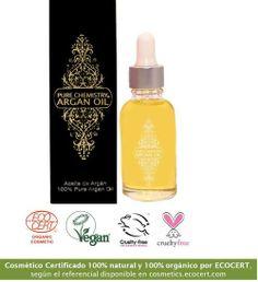 Aceite de Argan Pure Chemistry Argan Oil Natural, Orgánico, Vegano, Cruelty Free