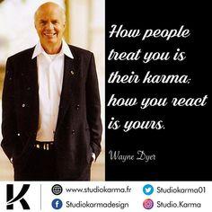 Comment if you like ❤️ Follow @studio.karma for more motivation & inspiration🔥 @drwaynedyer 👈 • • #successquotes #motivationalquotes Karma, Creation Site, Wayne Dyer, Motivation Inspiration, Motivationalquotes, Studio, Logo Creation, Studios
